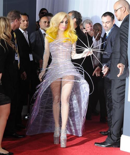 Lady Gaga at last years grammy awards . it was announced last night that Lad